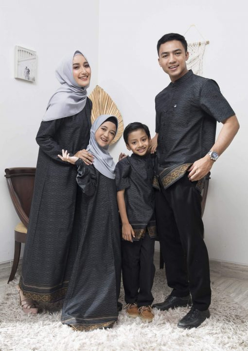 Sarimbit Keluarga Muslim – Baju Elzatta Sarimbit Zazira Wom