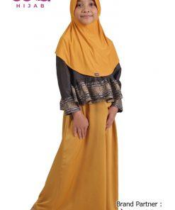 Sarimbit Keluarga Muslim – Gamis Anak Elzatta Sarimbit Rabbiya Girl