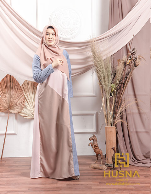 Baju Gamis 2020 Terbaru - Danish Dress - Delia Hijab