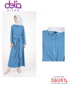 Baju Gamis Modern - L Dress Crenara - Dauky Fashion B