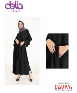 Baju Gamis Modern - L Dress Ekiva - Dauky Fashion BL
