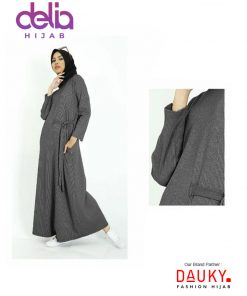 Baju Gamis Modern - L Dress Kanaya - Dauky Fashion