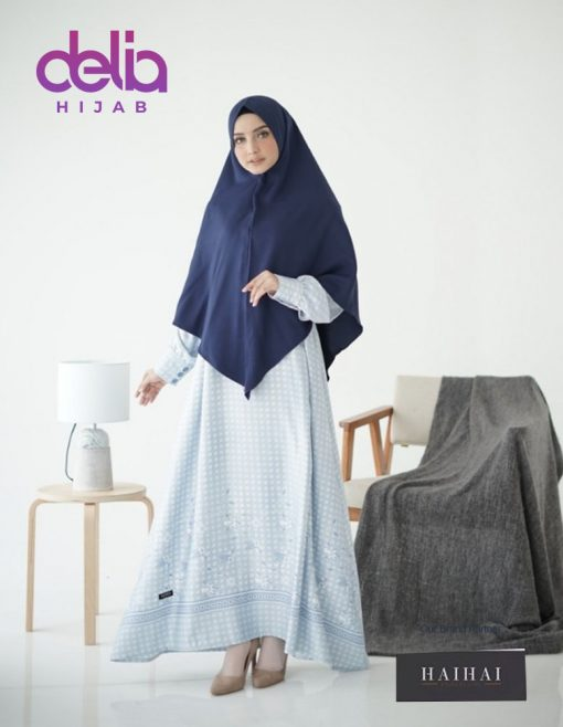 Baju Gamis Syar'i Modern - Gamis Dewasa Premium HaiHai GM 41 - B
