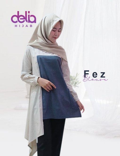 Baju Muslim Casual - Fez Blouse - Delia Hijab