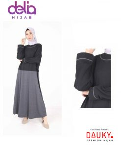 Baju Muslim Casual - L Dress Avy - Dauky Fashion B