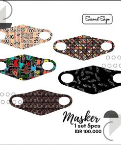 Masker Scuba Motif - Masker Second Sign
