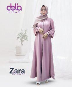 Baju Gamis Polos – Zara Dress – Delia Hijab