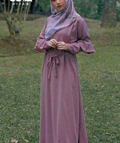 Baju Gamis Model Sekarang - Aileen Dress - Delia Hijab 2
