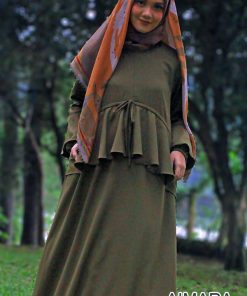 Baju Gamis Pesta - Aimara Dress - Delia Hijab 1