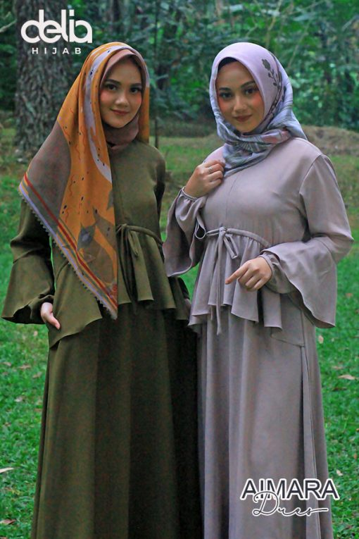 Baju Gamis Pesta - Aimara Dress - Delia Hijab 2