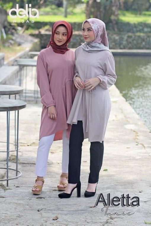 Baju Muslim Casual - Aleta Tunic - 1