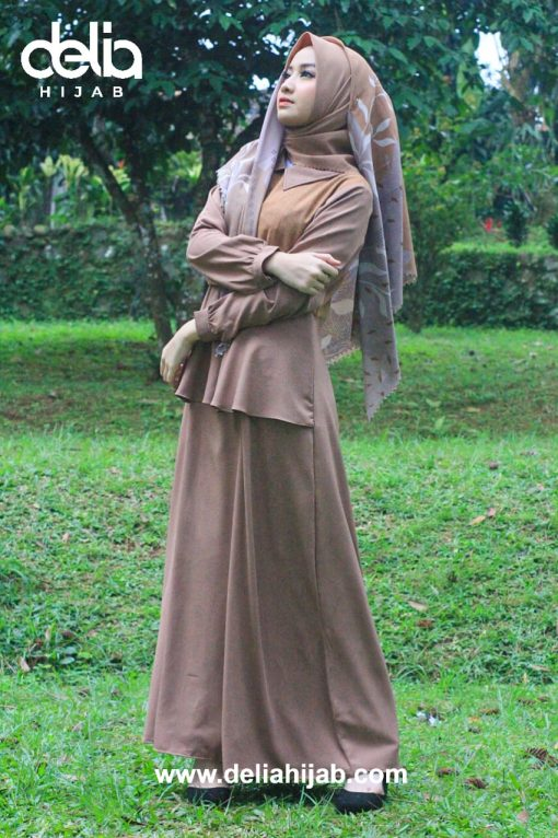 Baju Gamis Casual – Jameela Dress – Delia Hijab