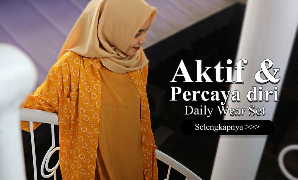 Cat 2 Dailywear Fashion Hijab - Aktif