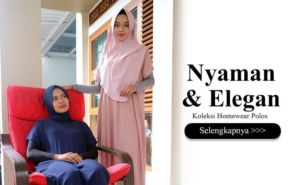 Cat 3 Homewear Fashion Hijab - Nyaman