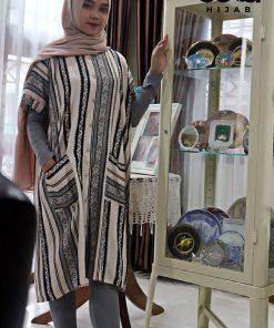 Homewear Fashion - Bonita Midi Dress - Delia Hijab