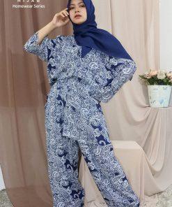 Homewear Set - Setelan Batik - Delia Hijab