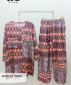 Homewear Set - Setelan Tribal - Delia Hijab