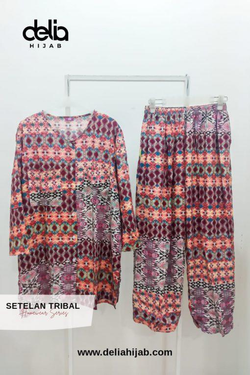 Homewear Set - Setelan Tribal - Delia Hijab