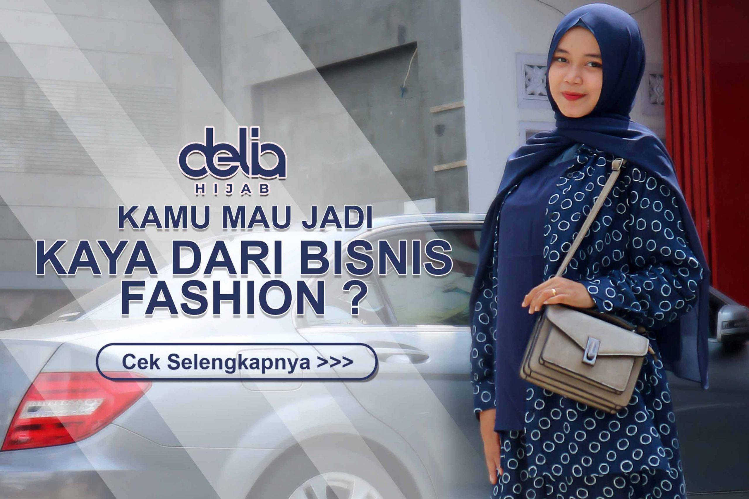 Reseller Baju Gamis Modern dan Busana Muslim Delia Hijab - Popup