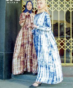 Tie Dye Fashion - Donita Dress - Delia Hijab