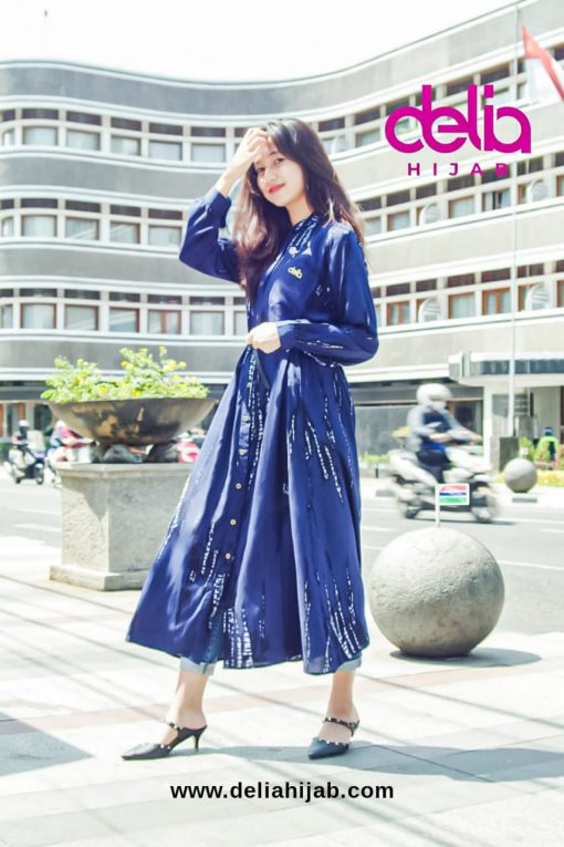 Tie Dye Fashion - Dress Opnaisel - Delia Hijab