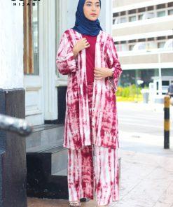 Tie Dye Fashion - Setelan Delilah - Delia Hijab