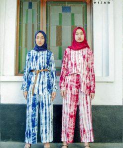 Tie Dye Fashion - Setelan Diana - Delia Hijab
