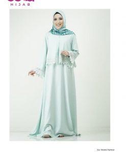 Baju Gamis Brokat - Gamis Lacelia - Elzatta Hijab