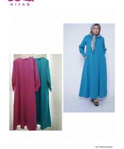 Baju Gamis Casual - Gamis Frissa - Elzatta Hijab