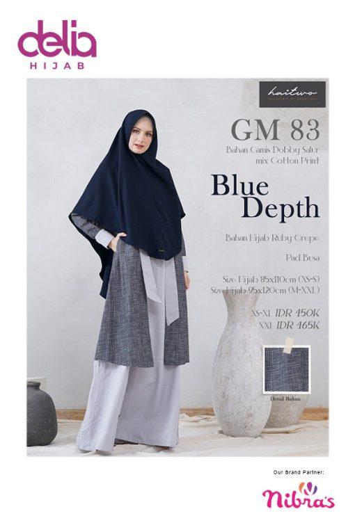 Baju Gamis Syar'i - Gamis GM083 - HaiTwo