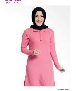 Baju Muslim Casual - Girls Polo Shirt - Dauky Fashion