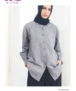 Baju Muslim Casual - Short Stripes Tunic - Aune