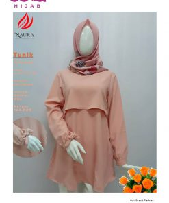 Baju Muslim Casual - Tunik Faranissa - Rumah Naura