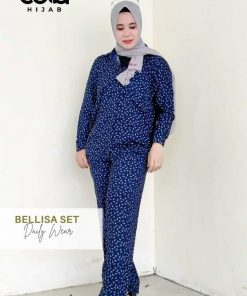 Daily Wear Fashion - Belissa Set - Delia Hijab