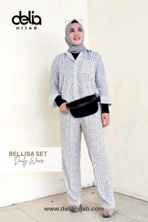 Daily Wear Fashion - Belissa Set - Delia Hijab