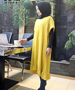 Homewear Fashion - Bella Ruffle Tunic - Delia Hijab
