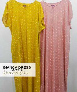 Homewear Fashion - Bianca Dress Motif - Delia Hijab Polkadot
