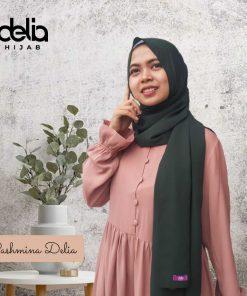 Kerudung Pashmina Syar'i - Pashmina Ceruti - Delia Hijab