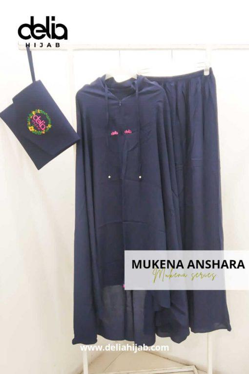 Mukena Polos - Mukena Anshara - Delia Hijab