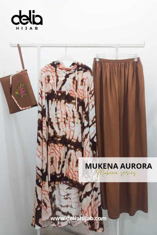 Mukena Tie Dye - Mukena Aurora - Delia Hijab
