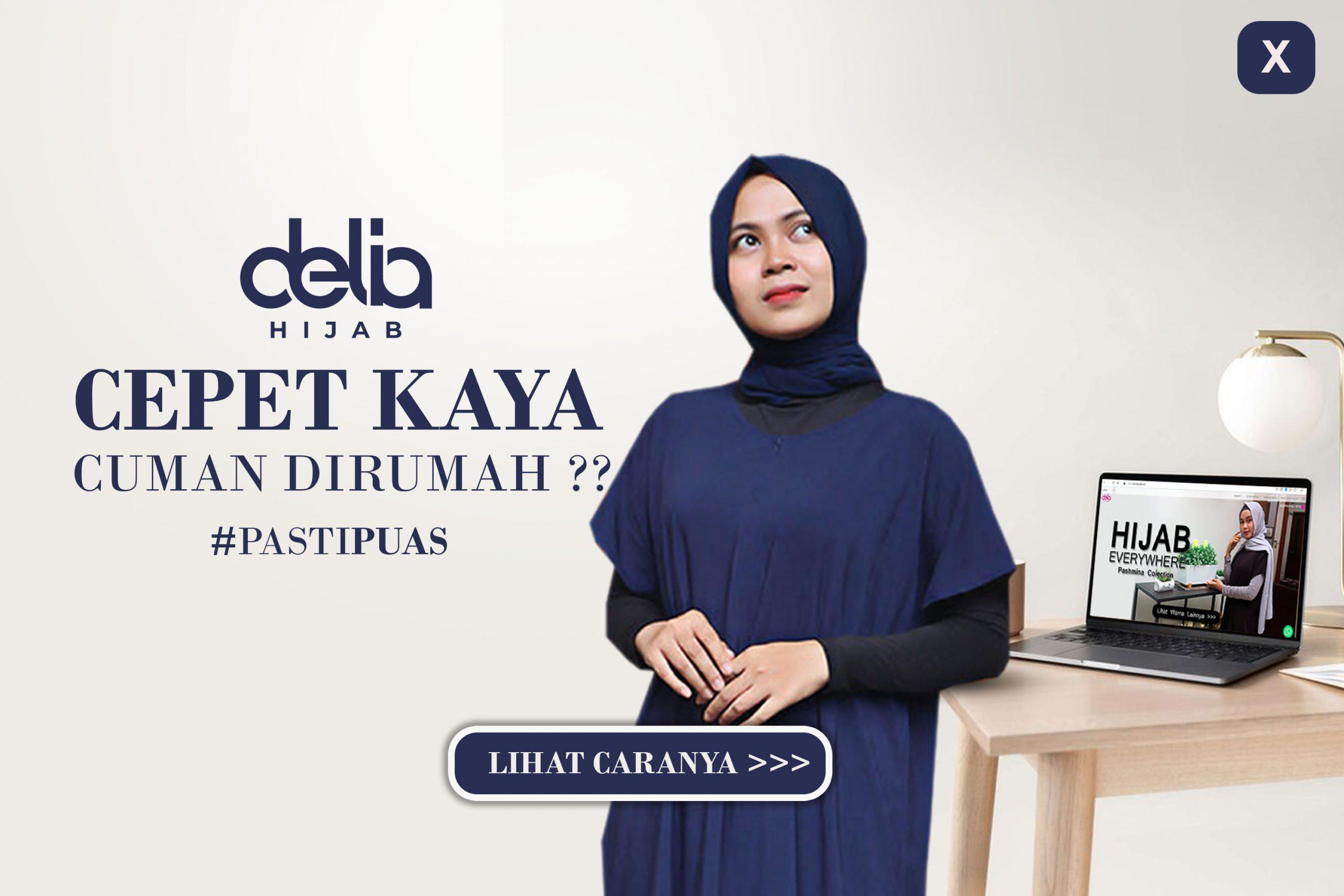Reseller Baju Gamis Modern - Reseller Busana Muslim Casual - Delia Hijab Sukabumi Popup