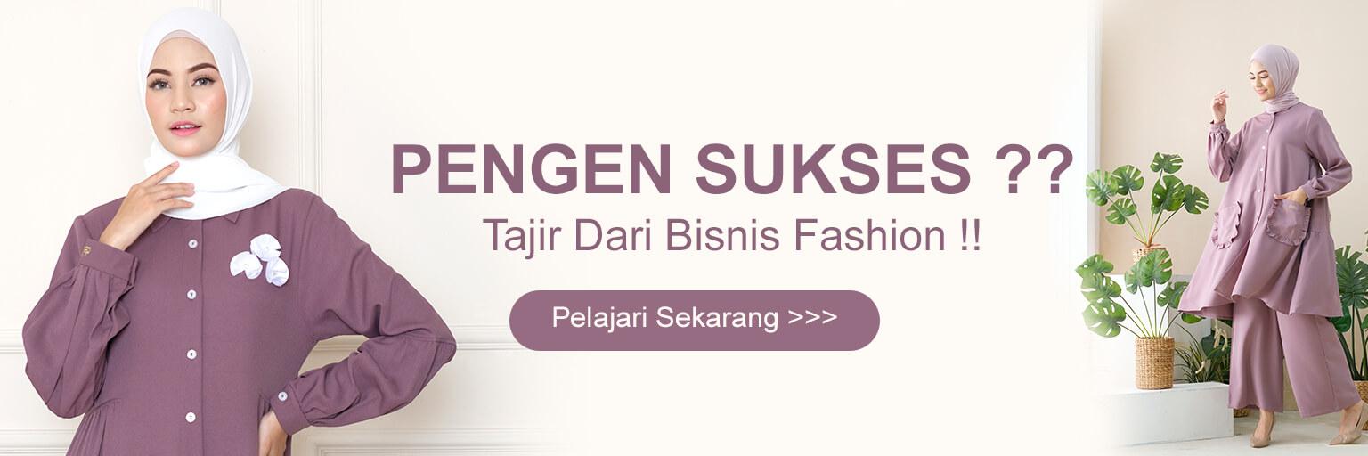 Bisnis Online Tanpa Modal - Reseller Baju Gamis Modern - Reseller Busana Muslim Casual