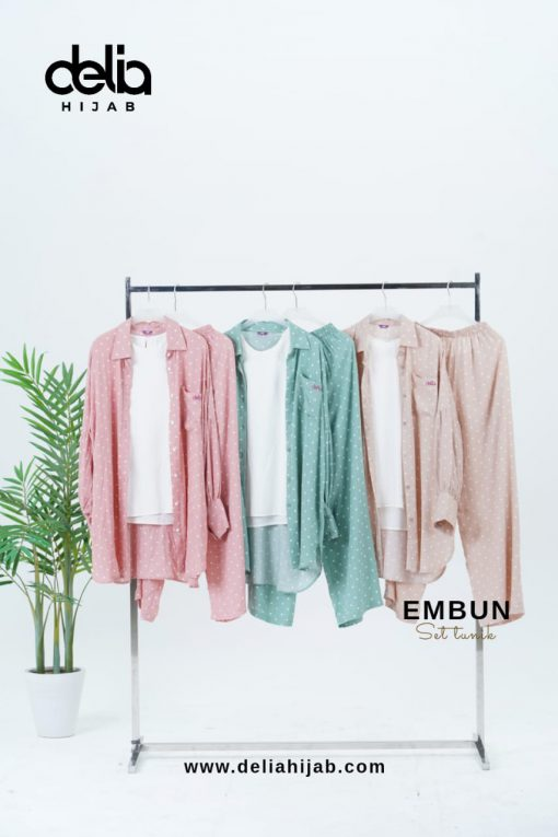 Daily Wear Fashion Hiab - Embun Set All Color
