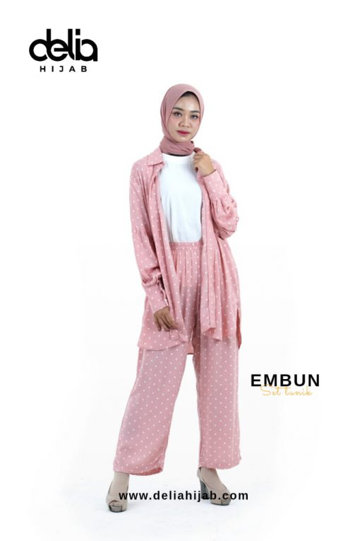 Daily Wear Fashion Hiab - Embun Set - Delia Hijab