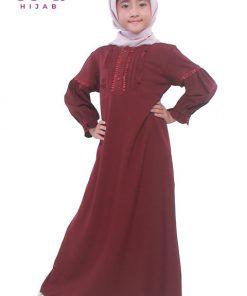 Baju Gamis Anak Perempuan - Belvi Dress - Zoya