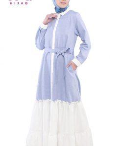 Baju Gamis Modern 2021 - Razwa Dress - Zoya