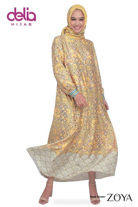 Baju Gamis Modern Terbaru - Zunaira Dress - Zoya