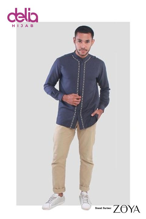 Baju Koko Pria Lengan Panjang - Alaric Menswear - Zoya