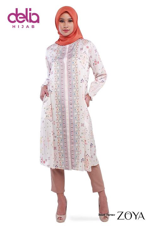 Baju Muslim Midi Dress - Harnum Midi Dress - Zoya