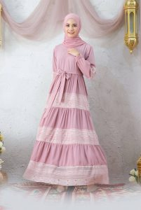 Baju Muslim Renda - Baju Lebaran Idul Fitri 2021